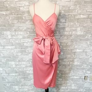 NWT Diane Von Furstenberg Avila Wrap Midi Dress